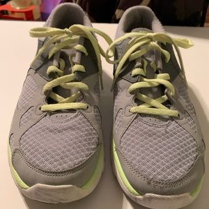 Nike Lime Green/Gray Sneakers